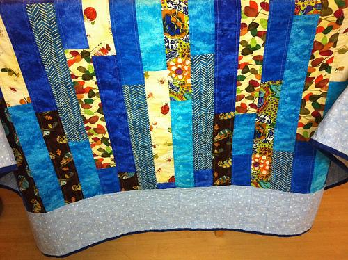 Little boy blue quilt